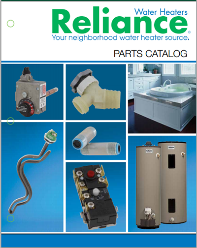 reliance parts catalog reliance replacement water heater parts, accesories and venting reliance electric water heater wiring diagram at soozxer.org